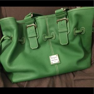 Green Dooney $ Bourke bag, large